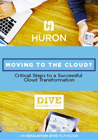 Moving to the Cloud - Higher Education Technology Solutions Page